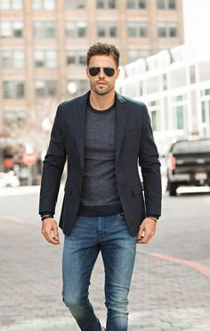 40 Smart Casual Fashion Ideas That Make Your Look Elegant - Men's style, accessories, mens fashion trends 2020 Blazer Outfits Casual, Smart Casual Outfit, Business Casual Outfits, Men's Outfits, Stylish Outfits, Casual Shoes, Casual Jeans, Casual Sneakers, Fall Outfits