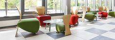 Bobo - Dauphin produziert ergonomische Sitzlösungen für das Büro.