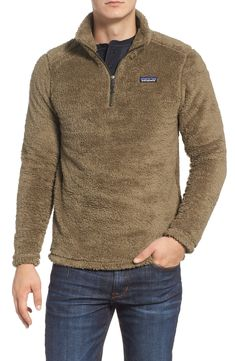 Men's Patagonia Los Gatos Quarter Zip Pullover, Size X-Large - Brown Patagonia, Mens Outdoor Jackets, Prep Style, Men's Style, Mens Sweatshirts, Mens Fashion, Preppy Fashion, Celebrity Style, Men Casual