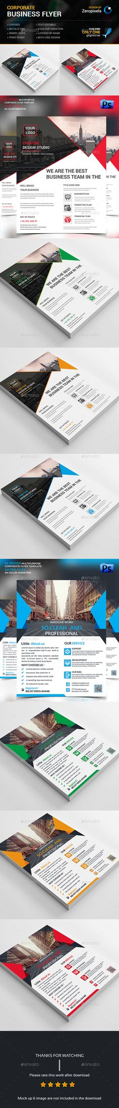 Advertising Brochure Template Fitness Flyer  Flyer Template Template And Brochures