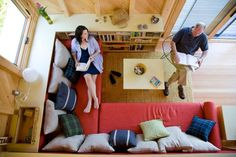 Tiny House Living Ro