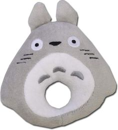 Totoro Baby Rattle $13.00 http://thingsfromjapan.net/totoro-baby-rattle/ #totoro rattle #studio ghibli baby item #ghibli item #my neighbor totoro