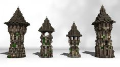 Medieval Tower Pack Minecraft Project