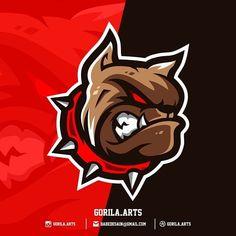 Frank Album, Fantasy Football Logos, Pizza Logo, Wild Logo, Esports Logo, Pitbull, Team Games, Game Logo, Logo Concept