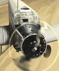 <p>Junkers Ju52 Toucan Fana de l