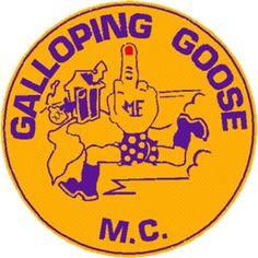 Galloping Goose MC Patch Logo
