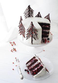 shakeology mug cake Xmas Food, Christmas Cooking, Christmas Desserts, Christmas Treats, Pretty Cakes, Beautiful Cakes, Amazing Cakes, Cake Cookies, Cupcake Cakes