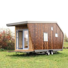 Tiny House, Shed, Outdoor Structures, Smart Home, Design, Home Decor, City Life, Wood Facade, Home Technology