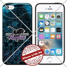 New iPhone SE Case , 5/5s TPU Case Prairie View A&M Panth…