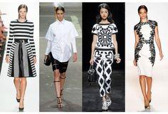 High Contrast: Black & White Fashion