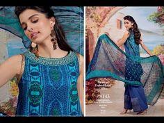 Gul Ahmed Summer Lawn Eid Collection 2017  Vol  2