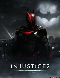 Injustice 2 poster by Mario Gagabriel