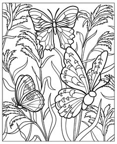 Printable Relax Coloring Page for Adults, PDF / JPG, Instant ...