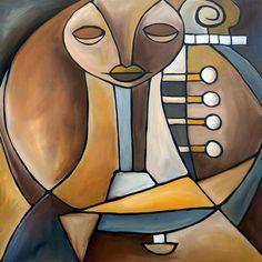 Resounding Painting by Tom Fedro - Fidostudio