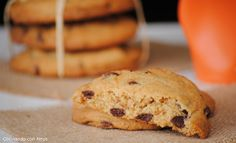 Cocinando con Neus: Cookies con gotas de chocolate