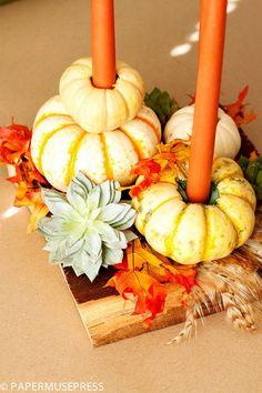 Interesting DIY Thanksgiving Decoration Ideas