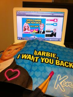 Take a look behind the scenes at how Mattel reunited its iconic doll couple with a marketing campaign that heavily utilized social media. Barbie And Ken, Barbie Dolls, Want You Back, Ever And Ever, Getting Back Together, Dream Life, Four Square, Campaign, Social Media