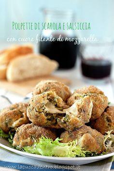 Le mie polpette di scarola e salsiccia per Taste & More – La Cuoca Dentro