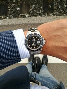 Rolex Submariner 168000 from 1986