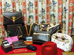 All are my pre loved authentic designer items, most of them are Louis Vuitton bags and are up for a grab.