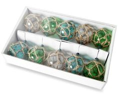 Glass float inspired string lights: http://www.completely-coastal.com/2012/05/coastal-lamps-inspired-by-fishing-glass.html Use them as party lights, accent lights..., inside or out on a covered porch!
