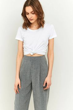 Light Before Dark Tonic Cocoon Trousers   Urban Outfitters   Women's   Bottoms   Trousers #UOEurope #UrbanOutfitters