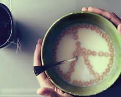 morning milky peace