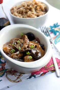 Chicken with Chinese Mushrooms - Erren's Kitchen -This recipe is so good  so authentic, your guests will think it came from a Chinese restaurant!