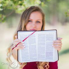 Senior Pictures Bible … Bookmark is graduation tassle