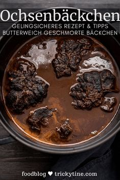 Recipe for tenderly braised ox cheeks – the perfect stew for holidays !, # for # braised Recipe for tenderly braised ox cheeks – the perfect stew for holidays !, # for # braised Protein Desserts, Healthy Protein, Healthy Nutrition, Healthy Lunches For Kids, Healthy Toddler Meals, Greek Recipes, Meat Recipes, Best Protein Shakes, Vegan Scones