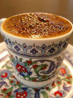 Turkish coffee.  So good .
