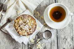 Classic french almond tart