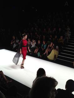 Rot wird zur absoluten Modefarbe.