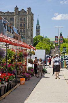 Byward Market, Ottawa°° - a great place to shop when visiting Ottawa.