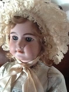 FRENCH ANTIQUE MECHANICAL WALKING DOLL