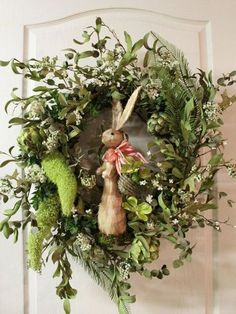 Spring Wreath - love this one