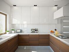 Home Decor Kitchen, Kitchen Furniture, Kitchen Interior, Home Kitchens, Open Plan Kitchen, New Kitchen, Kitchen Cabinetry, Minimalist Kitchen, Modern Kitchen Design