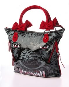 ⇔IRON FIST⇔ Wolfbeater Bag - Grey/ Red 再入荷 1