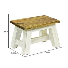 Shabby Chic Stool, Shabby Chic Furniture, Rustic Furniture, Diy Furniture, Inexpensive Furniture, Furniture Stores, Modern Furniture, Furniture Design, Woodworking Furniture