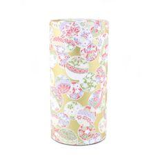achat vente boîte à thé japonaise en papier washi argenté ou dorée Temari fabriquée au Japon