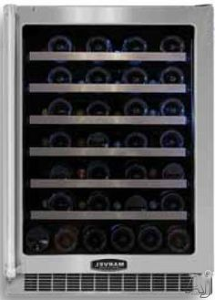 Marvel Stainless Steel Built In Wine Cooler MPRO6WCMBSLR by Marvel. $1899.00. Marvel Stainless Steel Built In Wine Cooler MPRO6WCMBSLR. Capacity: 6.4 cu. ft. Bottle Capacity: 54. Accepts Door Overlay: Yes. Door Lock: Yes. Leveling Legs: Yes. Interior Lighting: Blue LED. Cooling Technology: Active. Electronic Controls: Yes. Width: 23 7/8. Depth: 24 5/16. Height: 33 3/4. The perfect choice for professional-style kitchens. Quality... you know it when you see it. Clean lines. El...