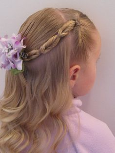 Child's Hairdo