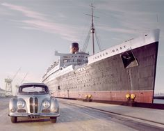 BMW 503 and the Queen Mary