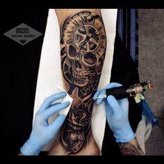 World of Tattoo☆★ work by Vladimir Drozdov ; Kiev-Ukraine (wow)