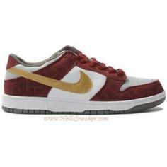 new concept 184f4 1c4f7 304292 112 Nike Dunk Low SB Shanghai White Metallic Gold Redwood K03008