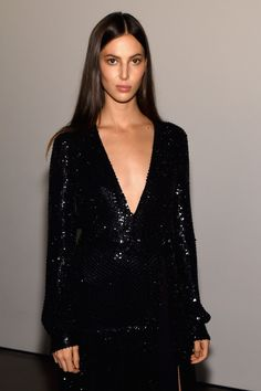 Attending the Golden Heart Awards 2016 , top models including Joan Smalls , Taylor Hill, Andreea Diaconu, Lily Aldridge , Constance ...
