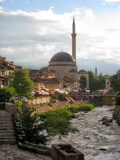 Prizren, Kosovo After Prishtina it's the second largest city of the young Republic of Kosovo, situated next to the Sharr Mountains.