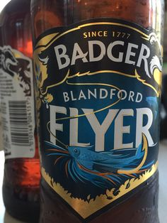 #44 Badger Blandford Flyer - Bizarrely real alcoholic ginger beer 3/5 (28/04/2015)