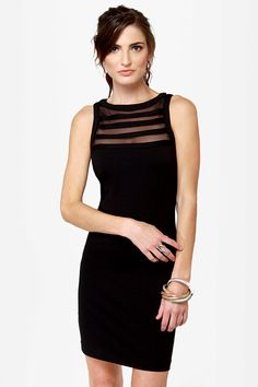 BB Dakota Sorina Cutout Black Dress - $74 : Fashion Little Black Dress at LuLus.com