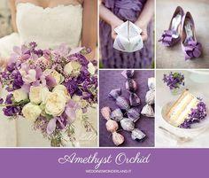 Purple Winter Weddings, Purple Wedding, Fall Wedding, Wedding Colors, Autumn Weddings, Pantone 2015, February Wedding, 2016 Trends, Orchids